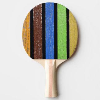 Raquette Tennis De Table Palette de ping-pong de couleurs, dos rouge en