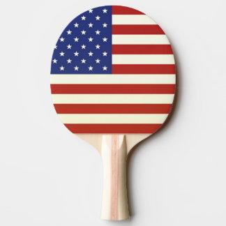Raquette Tennis De Table Palette de ping-pong de DRAPEAU des USA