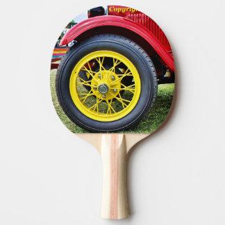 Raquette Tennis De Table Palette de ping-pong de pneu de voiture ancienne