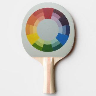 Raquette Tennis De Table Palette de ping-pong de ROUE de COULEUR