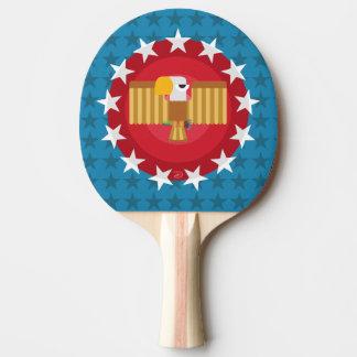 Raquette Tennis De Table Palette de ping-pong d'Eagle de liberté (bleu) -