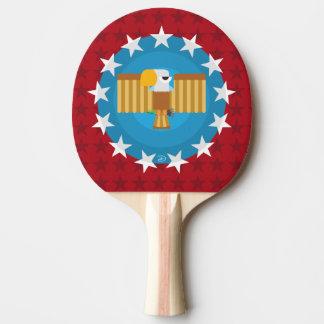 Raquette Tennis De Table Palette de ping-pong d'Eagle de liberté (rouge) -
