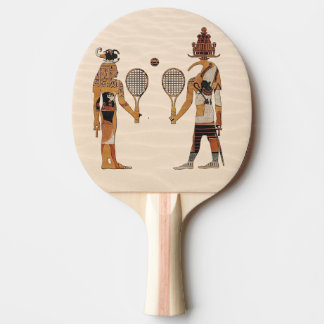 Raquette Tennis De Table Palette drôle de ping-pong de tennis de dieux