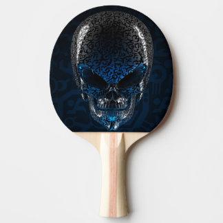 Raquette Tennis De Table Palette étrangère antique de ping-pong de crâne
