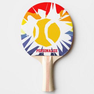 Raquette Tennis De Table Palette faite sur commande de ping-pong de trou de