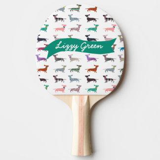 Raquette Tennis De Table Palette originale de ping-pong de teckel