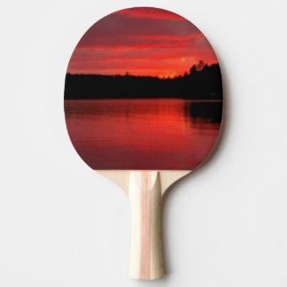 Raquette Tennis De Table Palette rouge de ping-pong de ciel