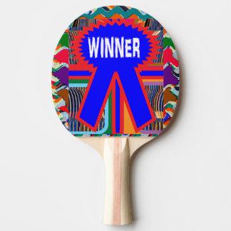 Raquette Tennis De Table Palette rouge de ping-pong de dos en caoutchouc de