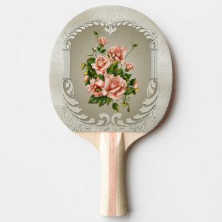 Raquette Tennis De Table Palette victorienne de ping-pong de roses