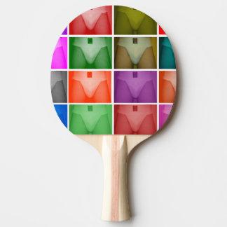 Raquette Tennis De Table Palettes de ping-pong de courroie d'écossais