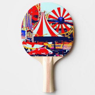 Raquette Tennis De Table Ping-pong en rouge