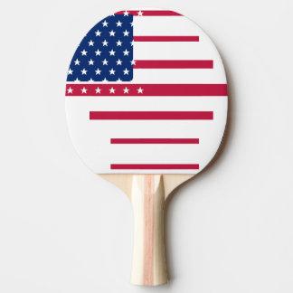 Raquette Tennis De Table Ping-pong patriotique de ping-pong de drapeau