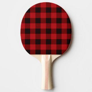 Raquette Tennis De Table Plaid rouge