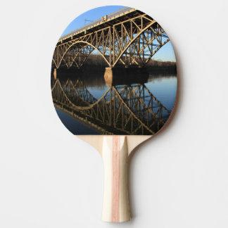 Raquette Tennis De Table Pont au-dessus de rivière de Schuylkill