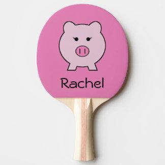 Raquette Tennis De Table Sadie le porc rose
