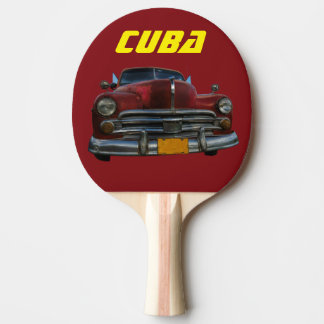 Raquette Tennis De Table Souvenir de voiture du Cuba