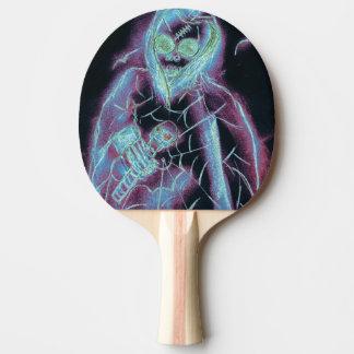 Raquette Tennis De Table squelette effrayant parfait