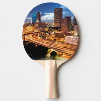 Raquette Tennis De Table Vue du centre de ville