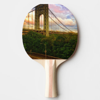 Raquette Tennis De Table Vue semblant du sud - occidental de Manhattan