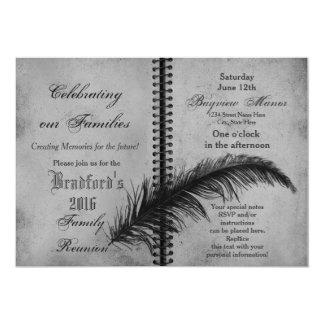 Rassemblements de famille - invitations - livre -