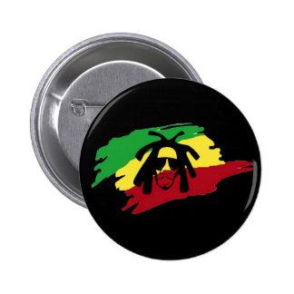 Rasta de reggae de Cori Reith Rasta Badge Rond 5 Cm