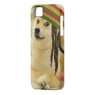Rasta doge barely there iPhone 5 hoesje