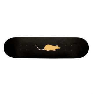 Rat d'animal familier de couleur de cannelle skateboards personnalisés