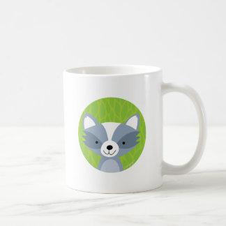 Raton laveur amical - amis de région boisée mug