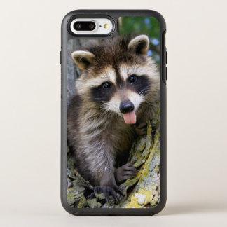 Raton laveur de bébé coque otterbox symmetry pour iPhone 7 plus
