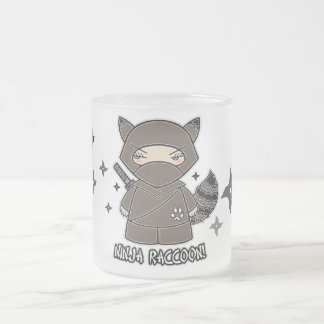 Raton laveur de Ninja ! Avec la tasse de Shurikens
