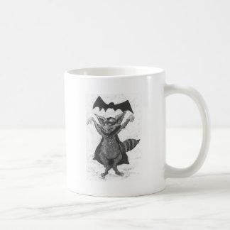 Raton laveur de vampire mug blanc