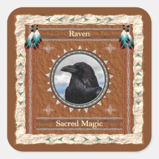 Raven - autocollants magiques sacrés - 20 par