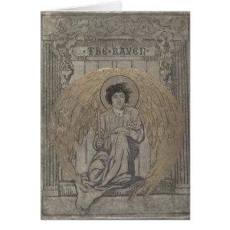 Raven d'Edgar Allan Poe Carte
