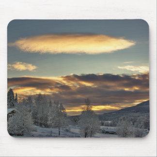 Ravitailleur nuageux tapis de souris