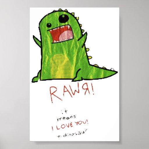 Rawr- poster