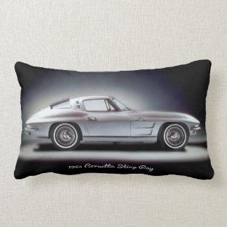 Rayon 1963 de Corvette Sting Coussin Rectangle