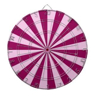 Rayons de soleil dans la cible rose et couleur