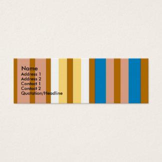 Rayures Carte De Visite Petit Format