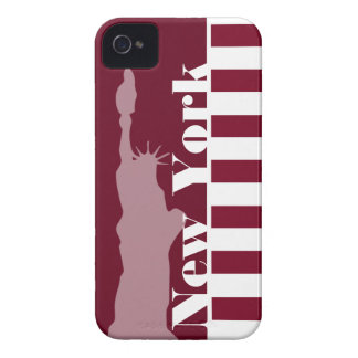 Rayures de Bourgogne ; New York Coque Case-Mate iPhone 4