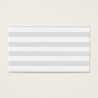 Rayures grises cartes de visite