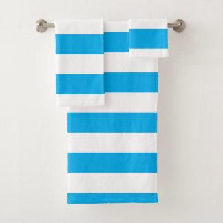 Rayures horizontales bleues