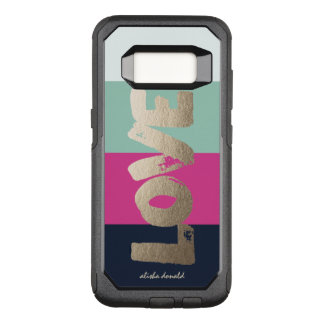 Rayures Luxe Coque Samsung Galaxy S8 Par OtterBox Commuter