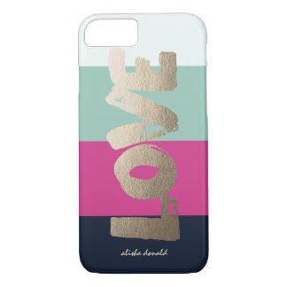 Rayures Luxe personnalisées de | Coque iPhone 7