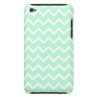Rayures vertes en bon état de Chevron de zigzag Coques iPod Touch