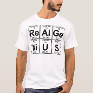 Re-Al-GE-Ni-u-s (echt genie) - Hoogtepunt T Shirt