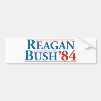 Reagan Bush '84 Autocollant De Voiture