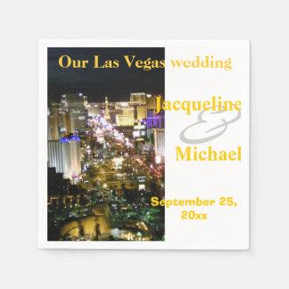 Réceptions de mariage de Las Vegas Serviette En Papier