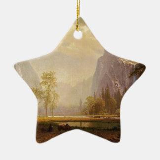 Recherchant la vallée de Yosemite - Albert Ornement Étoile En Céramique
