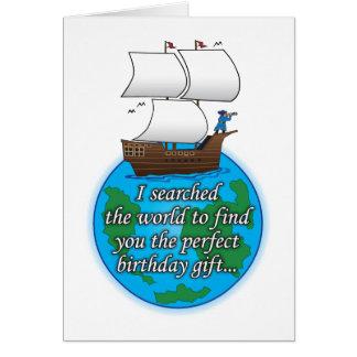 Recherche de la carte d'anniversaire humoristique