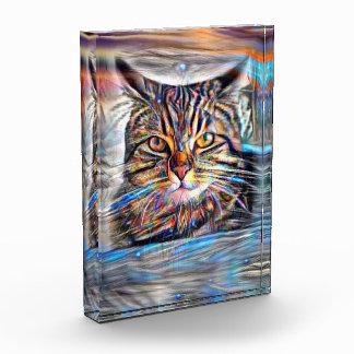 Récompense À la dérive chez le chat abstrait de révolution de